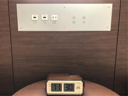 枕元USBコンセント(21平米の客室)