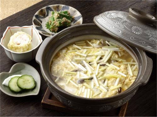 【朝食】雑炊(通常別途有料)