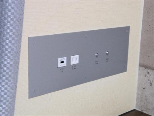 枕元USBコンセント(13平米の客室)